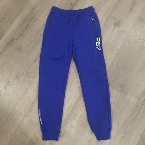POLO Ralph Lauren blue joggers 10-12 Medium